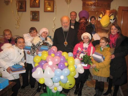 День рождения Предстоятеля УПЦ Блаженнейшего Митрополита Киевского и всея Украины Владимира