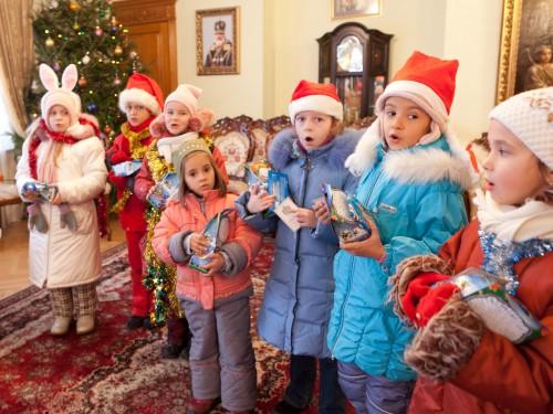 Маленькие коляднички (Рождество 2011г.)