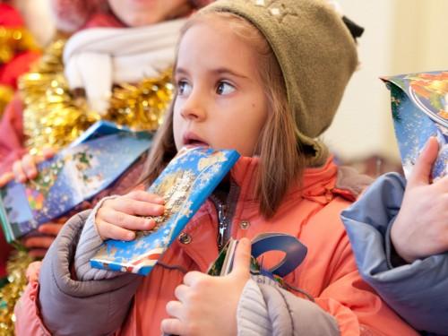 Самый маленький колядничок (Рождество 2011г.)