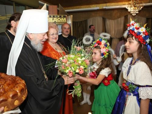 Встреча предстоятеля УПЦ Блаженнейшего Митрополита Киевского и Всея Украины Владимира