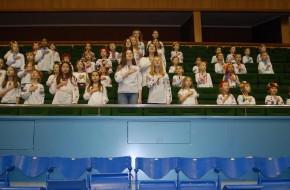 Первый открытый чемпионат по хоккею завершился!!! Честь исполнить гимн Украины доверили нам – Забавлянам!